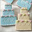 Kansas City Wedding Cookies and Cupcakes